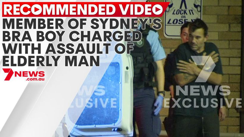 Member of Sydney's Bra Boy charged with assault of elderly man