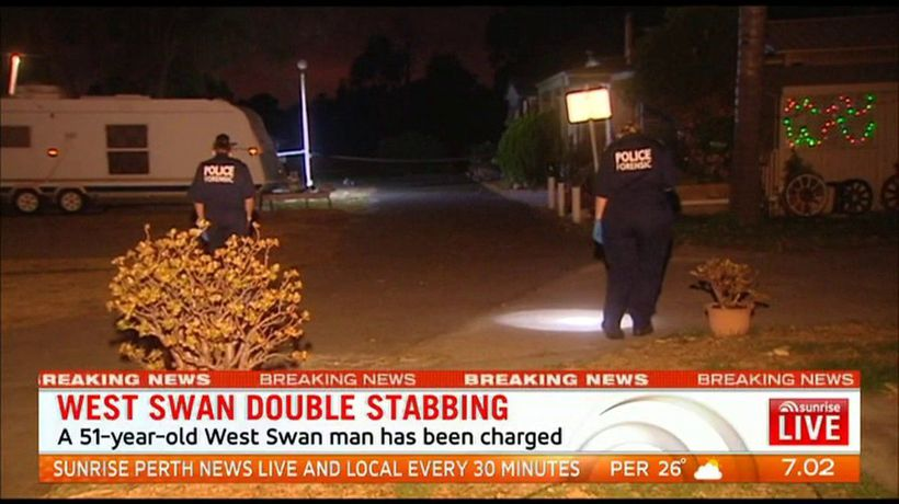 Double stabbing in Perth's North East