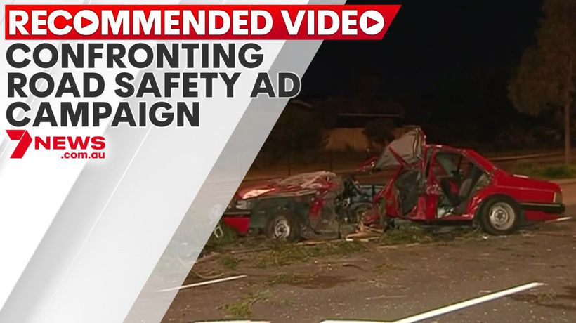 Confronting road safety ad campaign released by family of crash victim