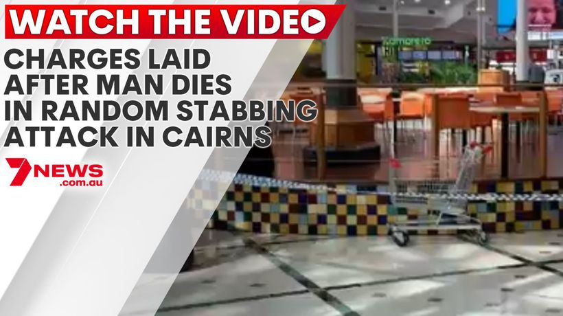 Charges laid after man dies in random stabbing attack in Cairns