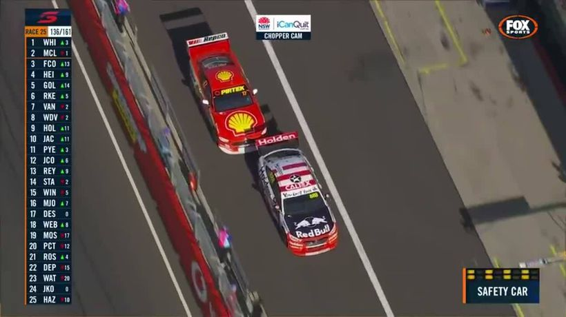 Fabian Coulhard slammed for Bathurst 1000 sportsmanship