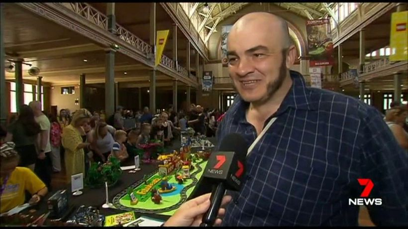 Lego convention opens