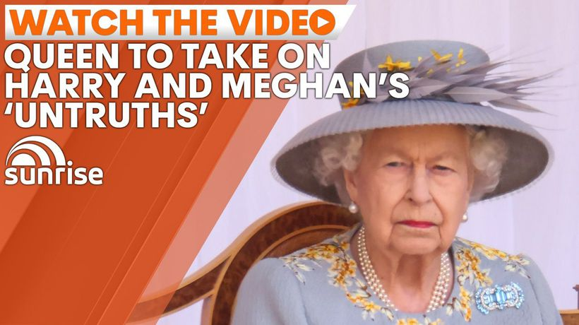 The Queen ditches 'never complain, never explain' stance