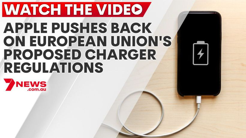 Apple pushes back on European Union's proposed charger regulations