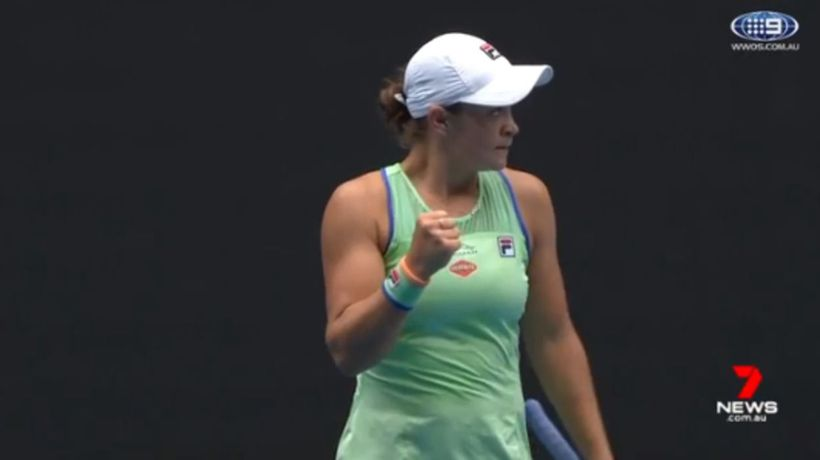 Barty defeats Riske in fourth round