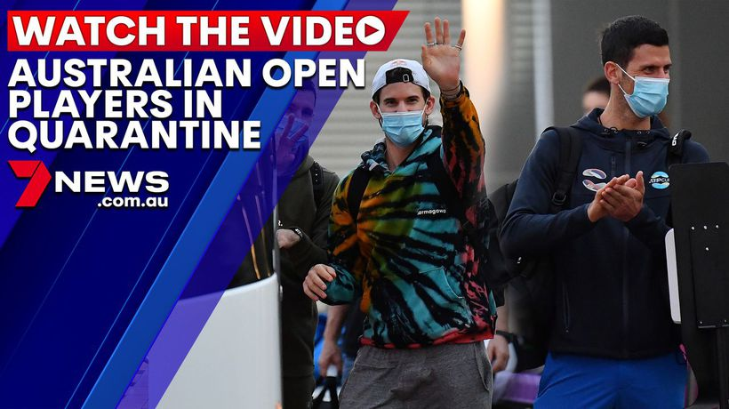 Australian Open players in quarantine after another positive COVID-19 case