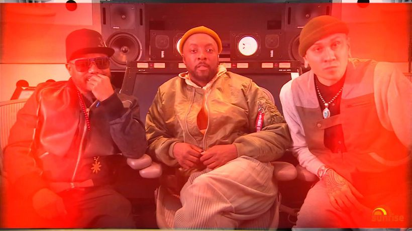 Black Eyed Peas extended interview
