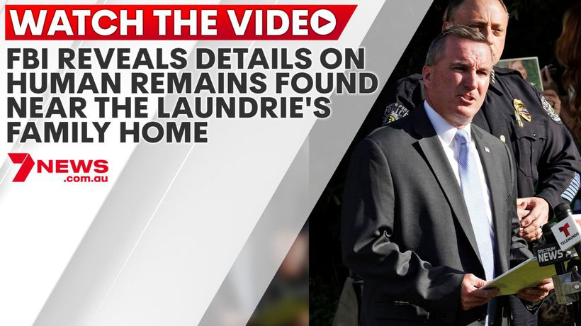 FBI reveals details on human remains found near the Laundrie's family home