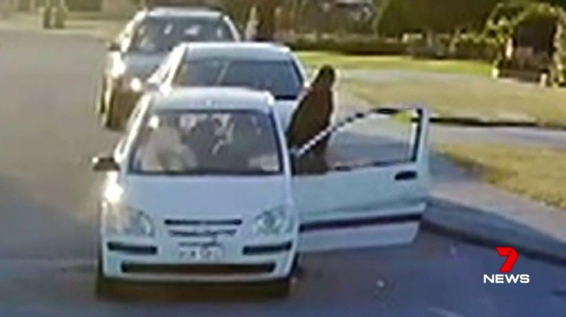 Gunman fires blanks in road-rage incident