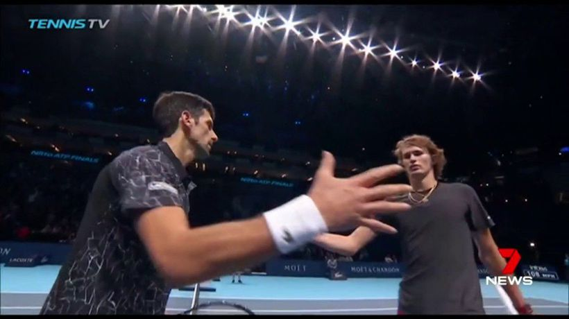 Djokovic through the final four at ATP Finals