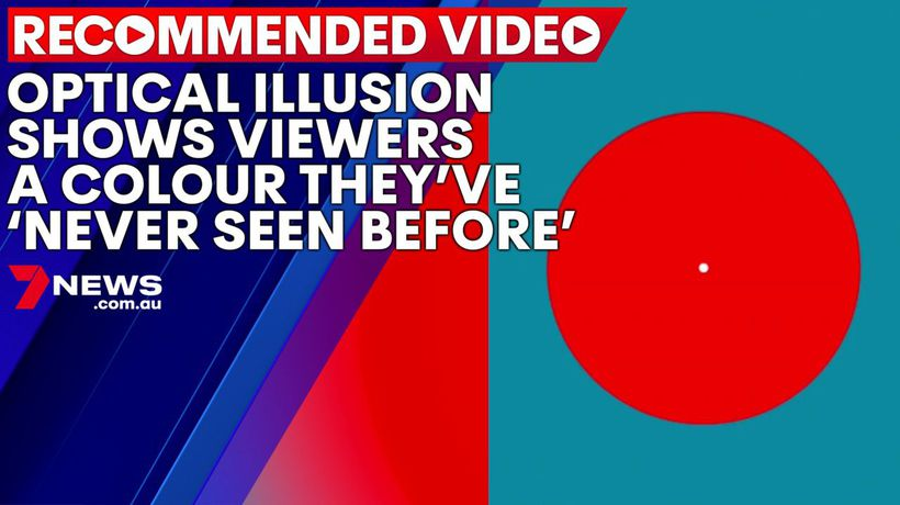 Optical illusion shows viewers a colour they've 'never seen before'