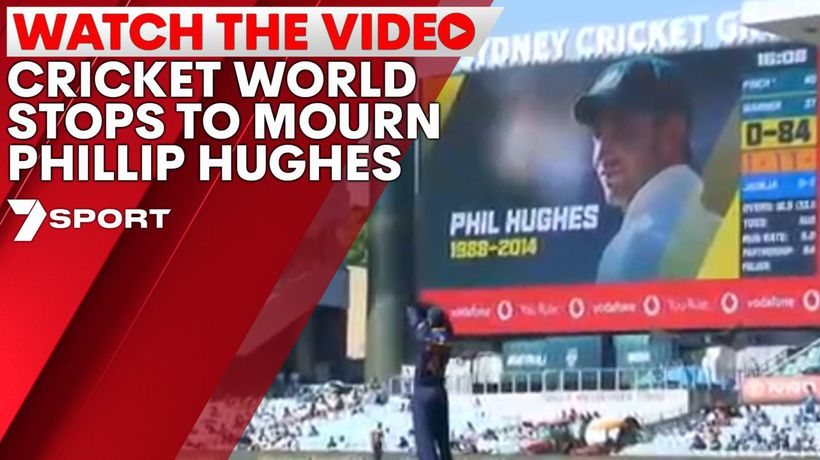 Cricket world stops to mourn Phillip Hughes