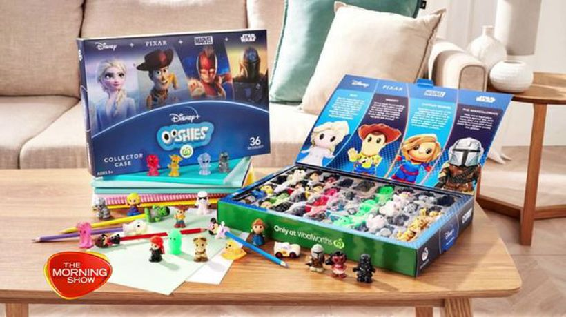The most valuable Ooshies from Woolworths' latest Disney collection