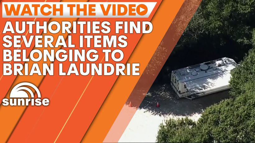 Authorities find several items belonging to Brian Laundrie