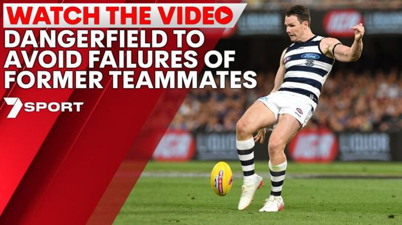 Dangerfield desperate to avoid failures of former teammates