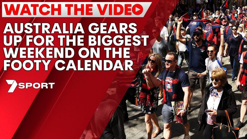 Australia gears up for the biggest weekend on the footy calendar