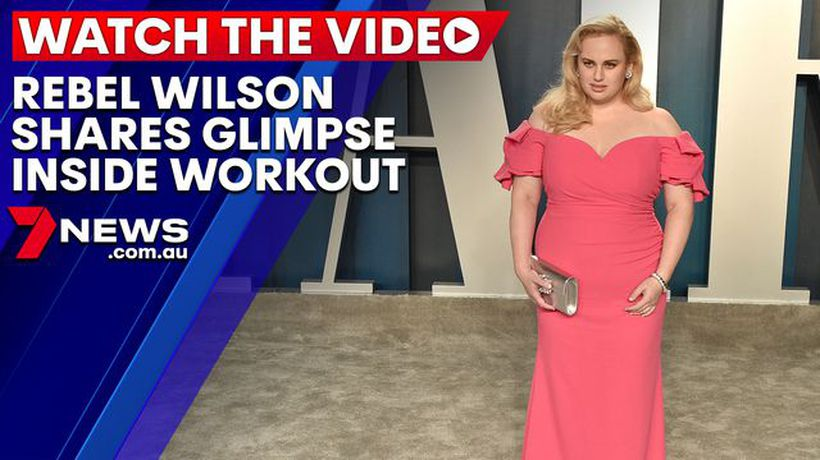 Rebel Wilson shares glimpse inside workout routine