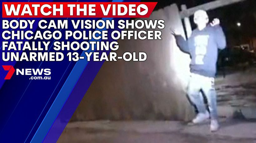 Body cam vision shows Chicago police officer fatally shooting unarmed 13-year-old