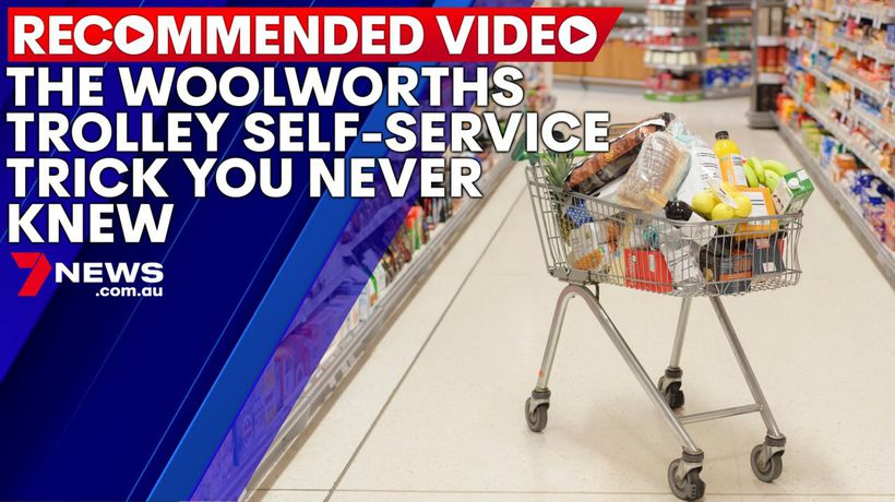 Woolworths trolley self-service trick