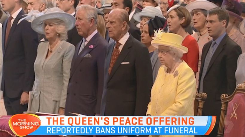 Queen offers olive branch to Prince Harry ahead of Philip's funeral