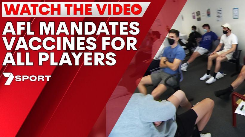 AFL mandates vaccines for all players