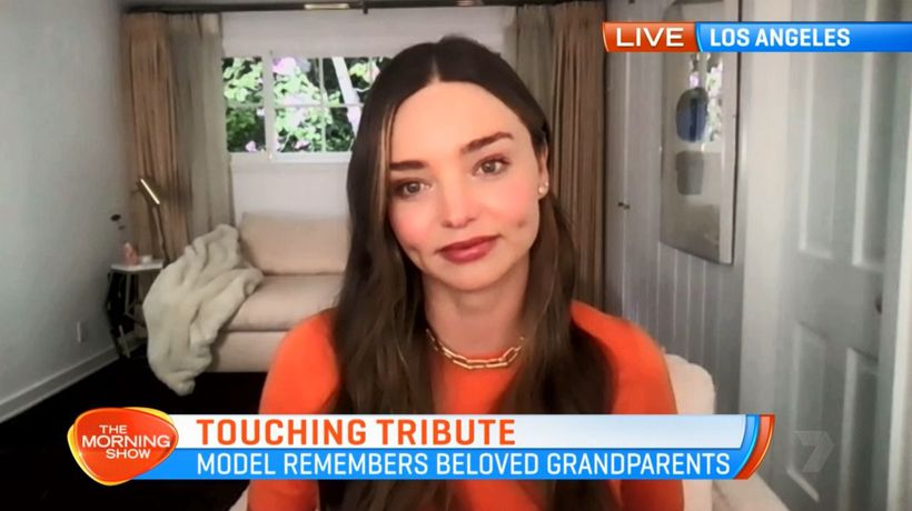 Miranda Kerr talks death of grandparents and relationship with Katy Perry