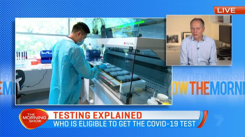 Coronavirus testing: Who is eligible and what happens at a COVID-19 clinic