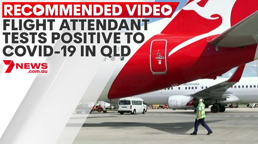 Flight attendant tests positive to COVID-19 in QLD