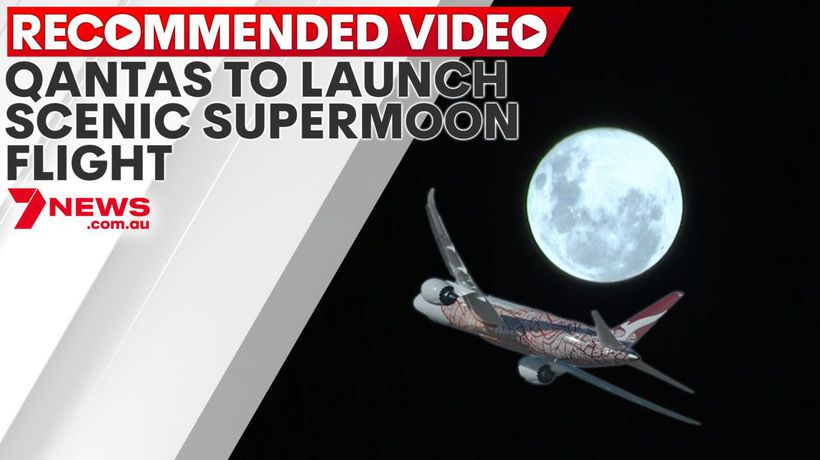 Qantas to launch scenic supermoon flight