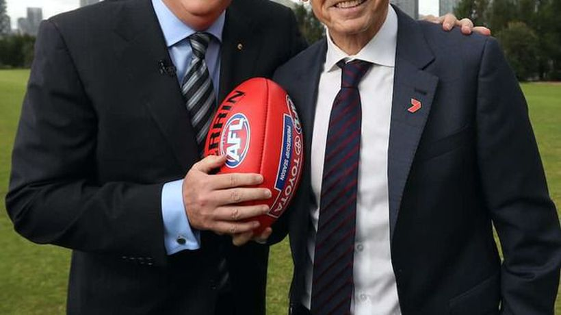 Bruce & Eddie On Bushfire Charity Match