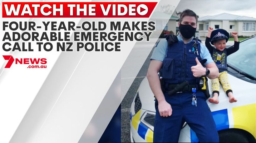 Four-year-old makes adorable emergency call to NZ Police