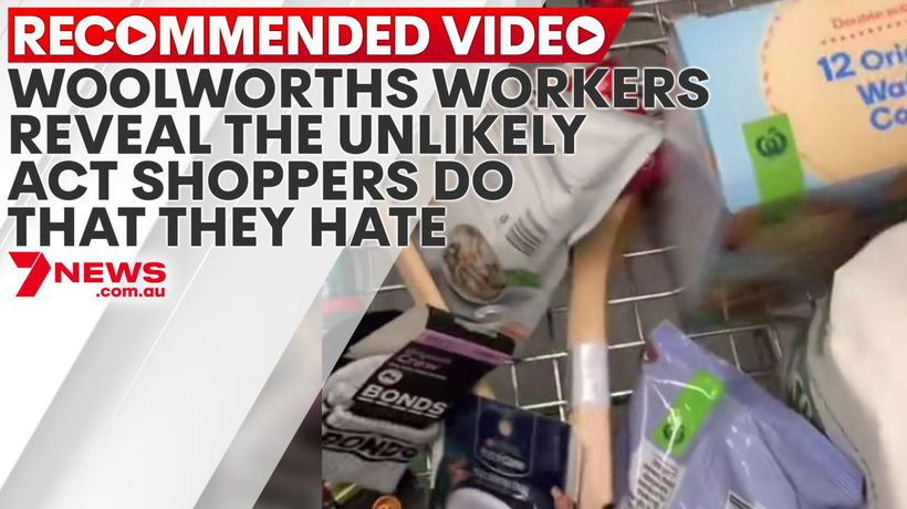 Woolworths workers reveal the unlikely act shoppers do that they hate