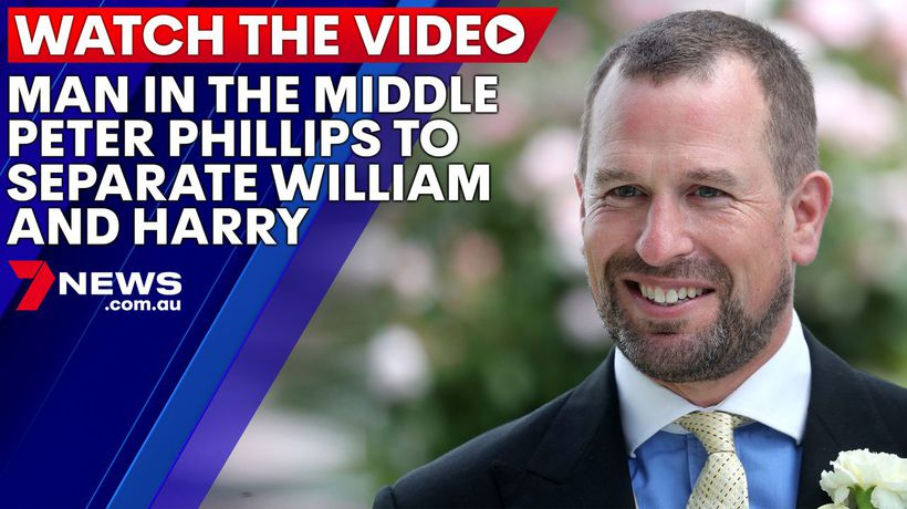 Peter Phillips, the Queen's 'favourite grandchild', to stand between William and Harry