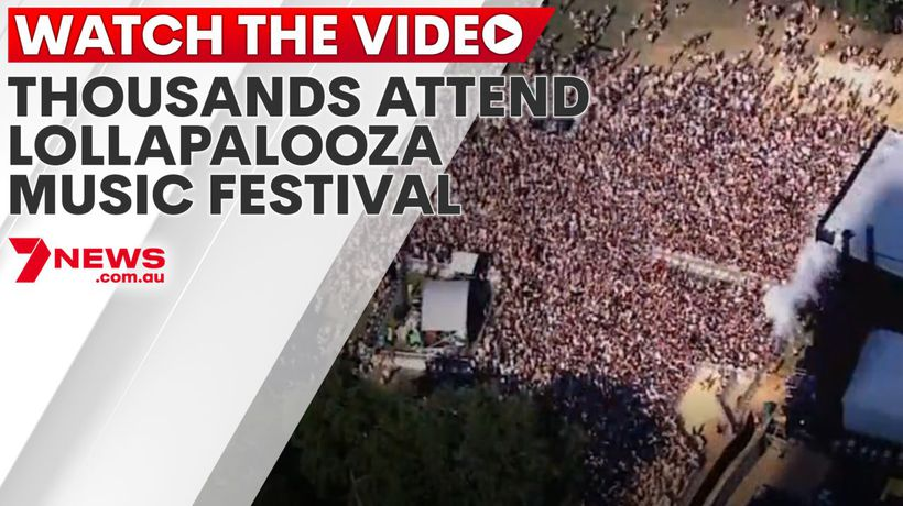 Thousands attend Lollapalooza music festival