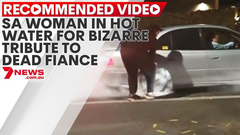 SA woman in hot water for bizarre tribute to dead fiance