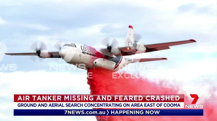 Firefighting aircraft crashes
