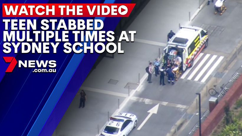 Student stabbed multiple times at Sydney school