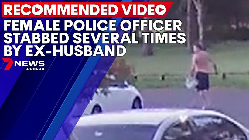 Female police officer allegedly stabbed several times by ex-husband