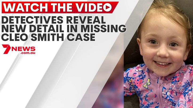 Detectives reveal new detail in missing Cleo Smith case