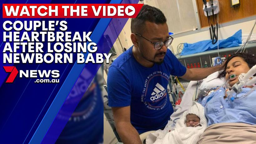 Couple open up after devastating loss of newborn baby boy