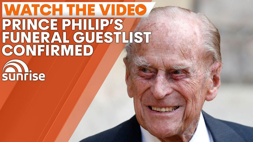 Prince Philip's funeral details released