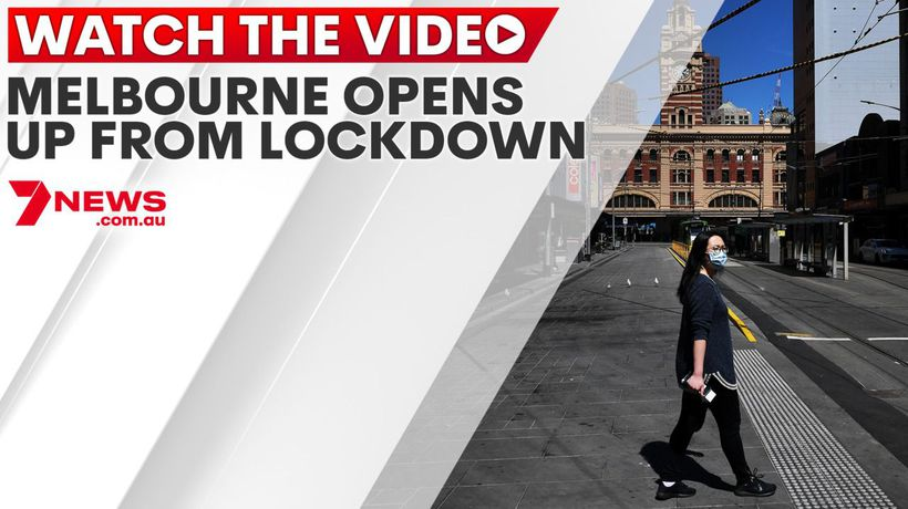 Melbourne opens up from lockdown