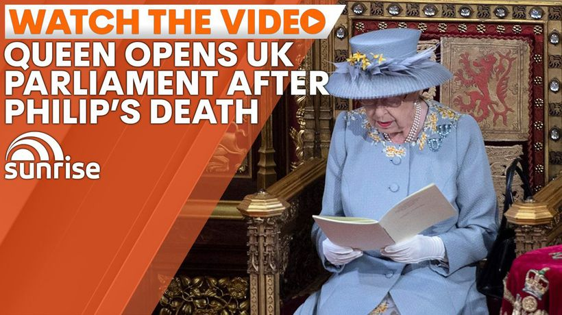 Queen Elizabeth opens UK Parliament following husband's death