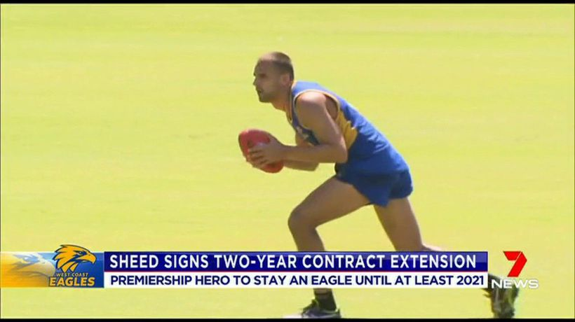 Sheed to stay an Eagle until 2021