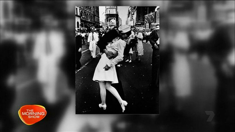 American sailor in iconic picture dies
