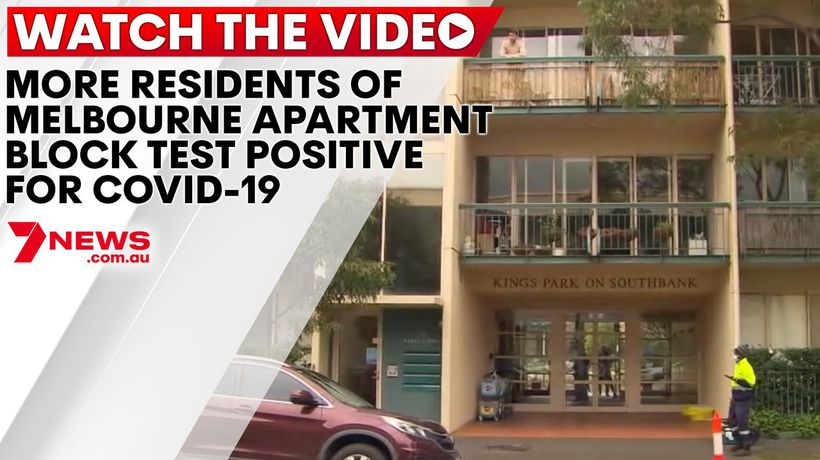 More residents of Melbourne apartment block test positive for COVID-19
