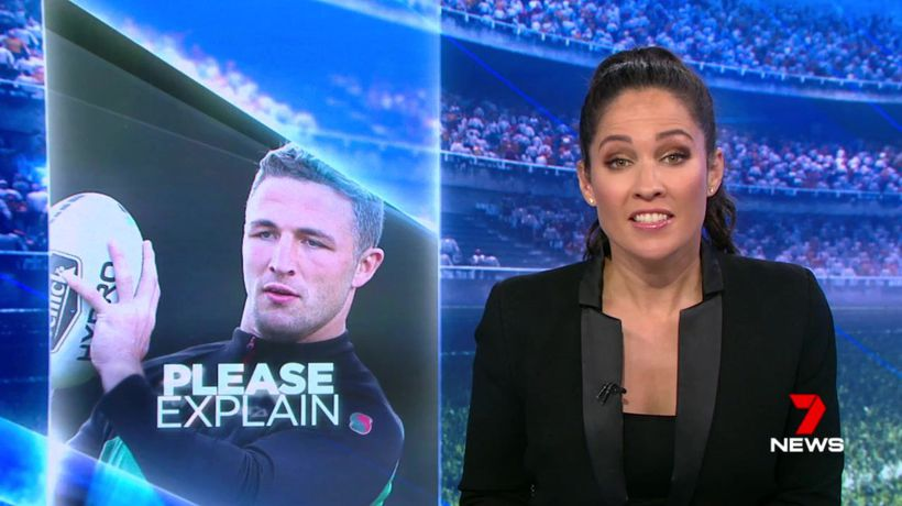 Sam Burgess handed show cause notice