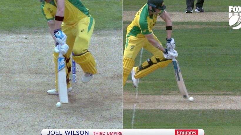 Smith tons up before controversial dismissal