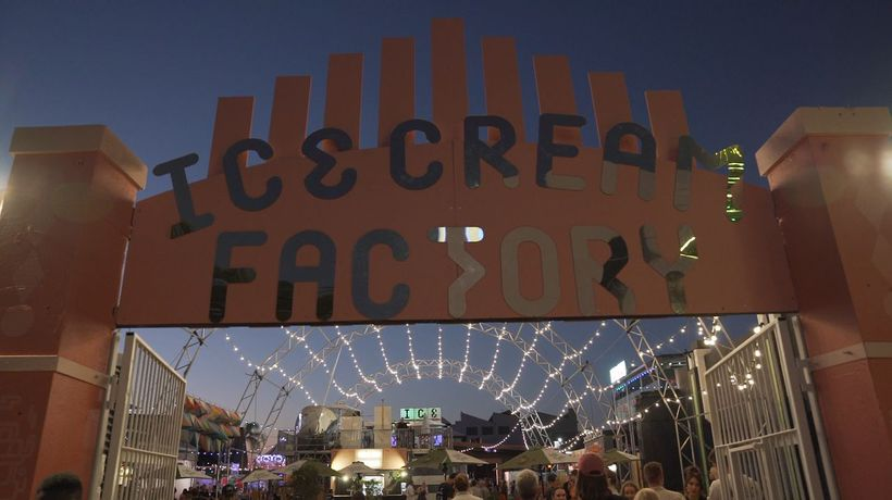 Ice Cream Factory Summer Festival