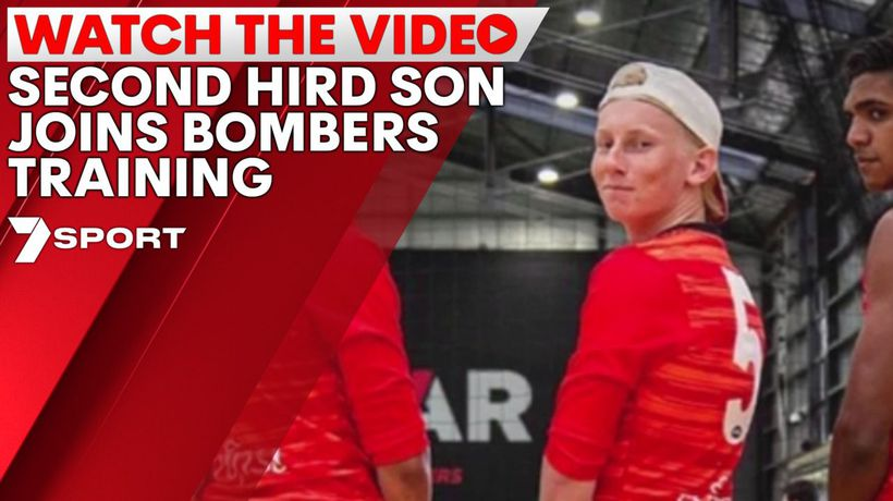 Second Hird son joins Bombers training